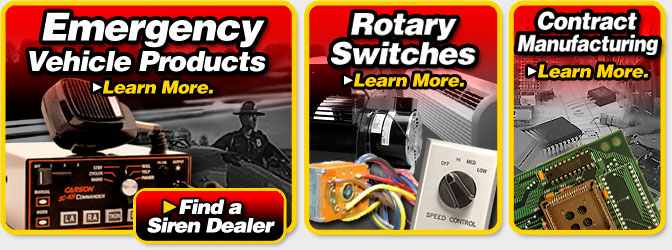 carson emergency vehicle sirens rotary switch manufacturer and rh carson mfg com