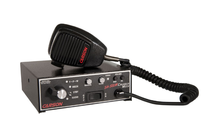 mechanical tone sirens carson sirens ems sirens emt sirens rh carson mfg com Whelen Control Box Police Light Bar